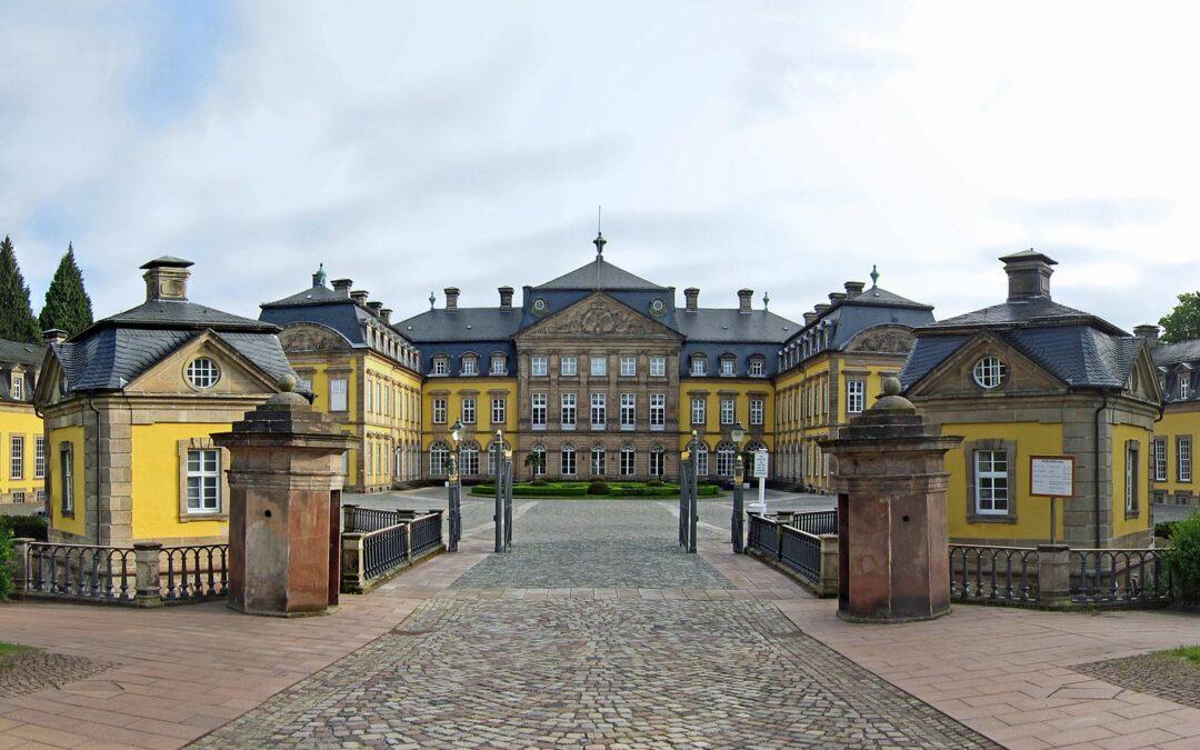 Woonplaats Koningin Emma Schloss Arolsen