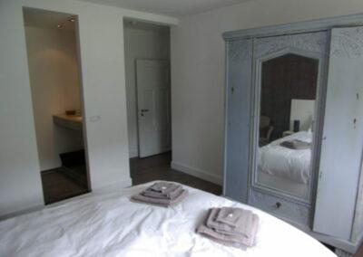 Slaapkamer, 2 persoons, met badkamer