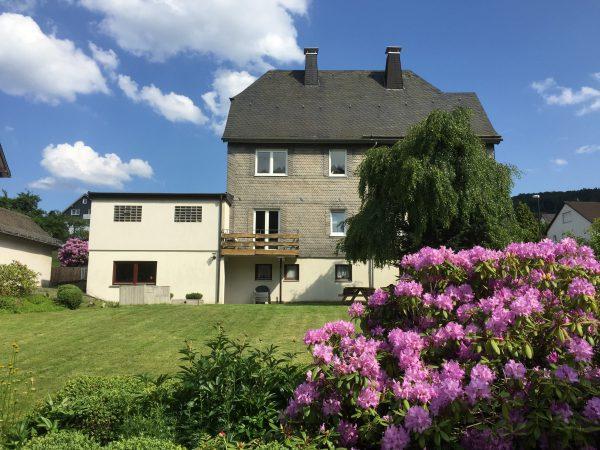 Achtertuin Villa Annabelle